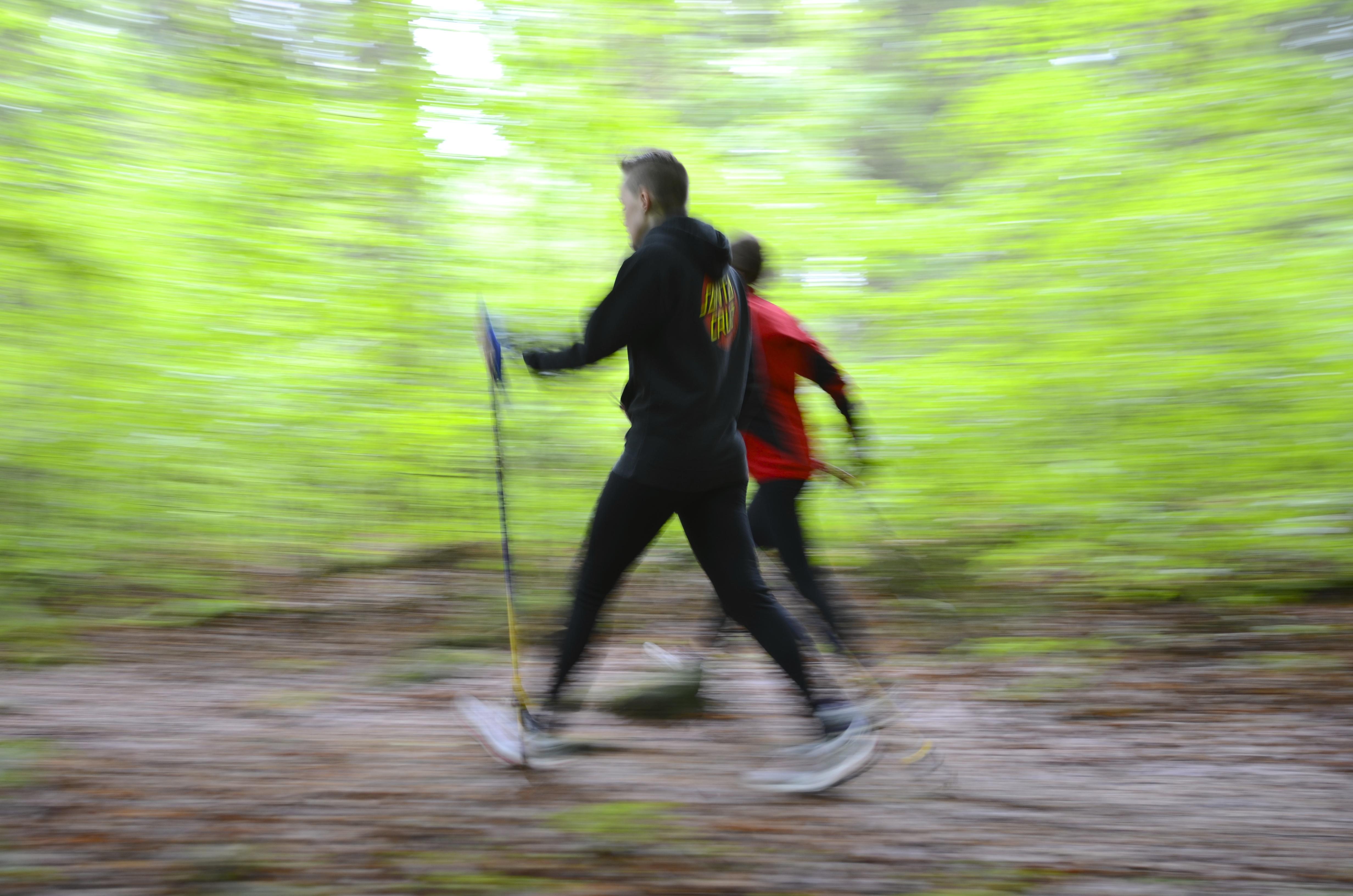 Stavgång kanske inte låter så tufft. Men testa Nordic Walking. FOTO: Lars Mogensen